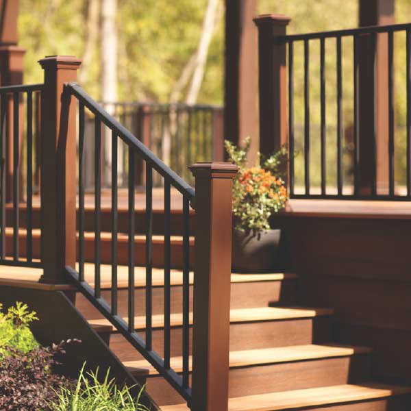 Trex Tidmore shoot railing and decking