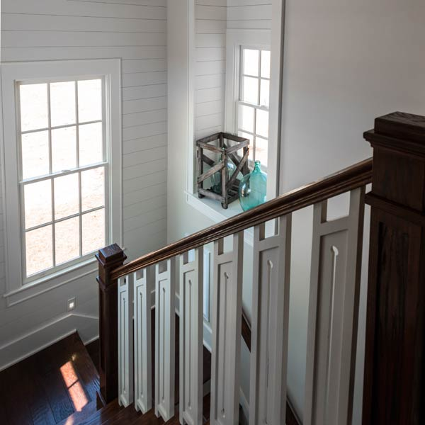southern living this old house all american cottage stairs with red oak