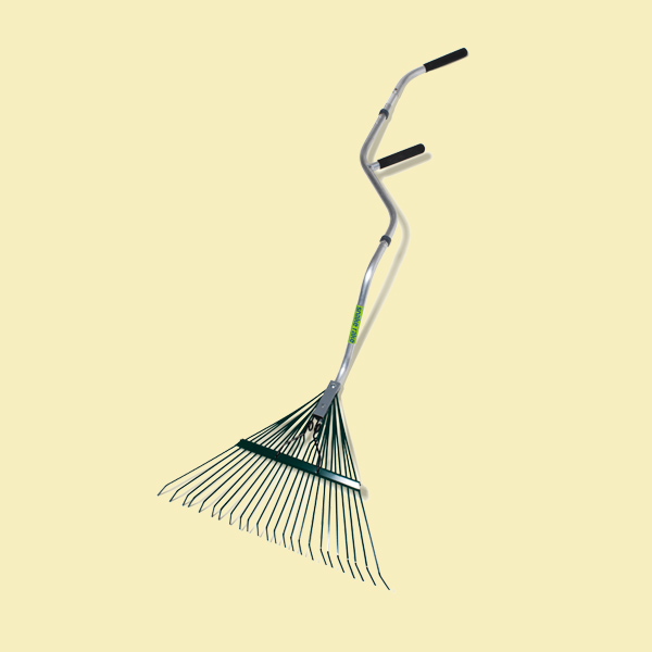 leaf rake, feel good garden gear