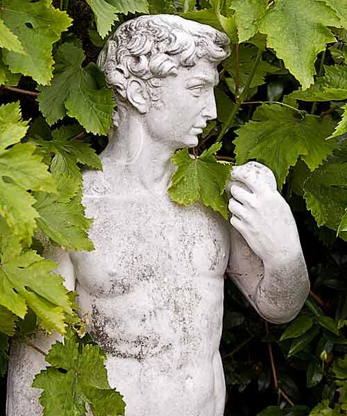 garden planning romantic garden art david replica