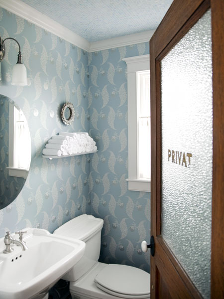 Pattern Play Half Baths Full Of Style This Old House