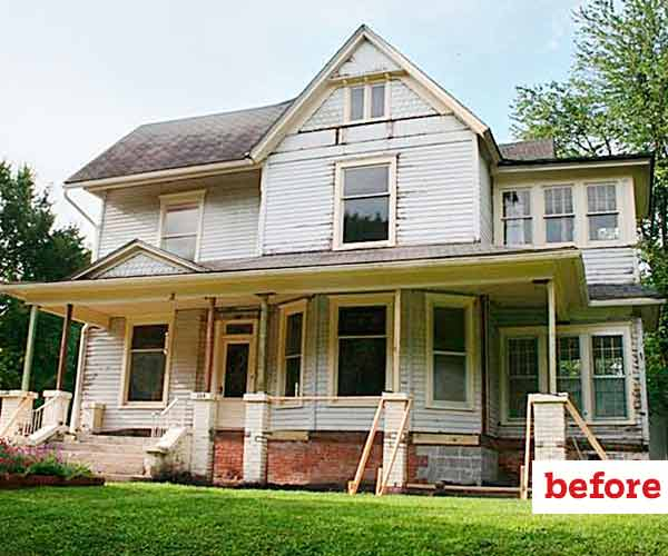 Restore Former Glory Before Curb Appeal Before And
