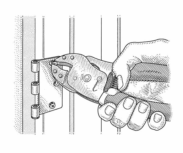 removing hinge screws, norm abram tricks of trade