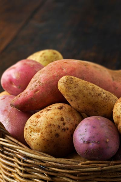 basketful full of potatoes, 10 uses for toothpicks