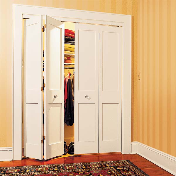 The Bifold Solution to redo your bedroom closet