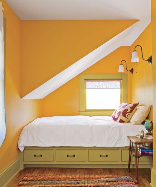 Citrus nook color of the month march 2014 freesia for Saffron yellow paint color
