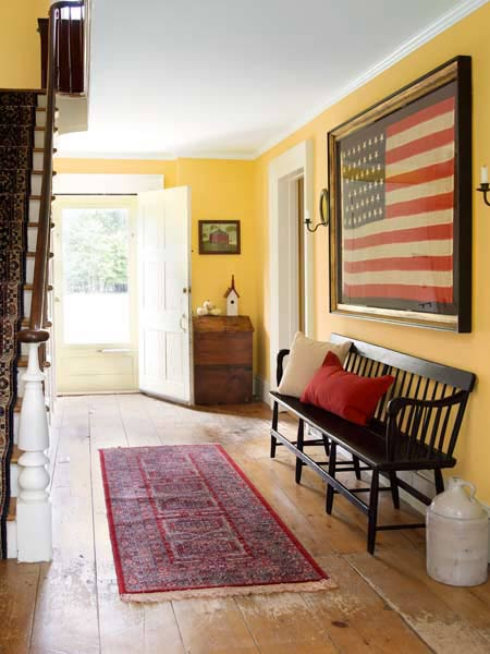 Historic Farmhouse Hallway Color Of The Month March