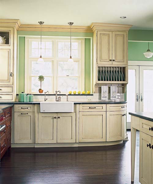 Victorian Kitchen Remodel Painting: Color Of The Month, May 2014: Hemlock