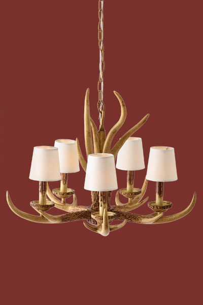 antler chandelier create a kids 39 camp style bedroom this old house