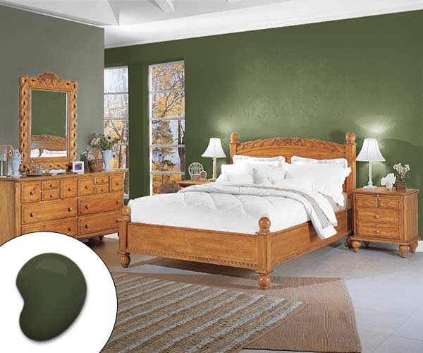 Garden Green Bedroom Color Of The Month December 2014