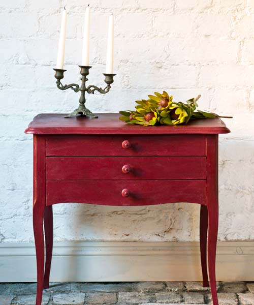 Chalk Paint 174 By Annie Sloan Burgundy Top Colors For