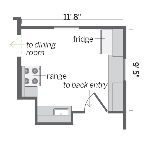 before floor plan, kitchen before and after remodel