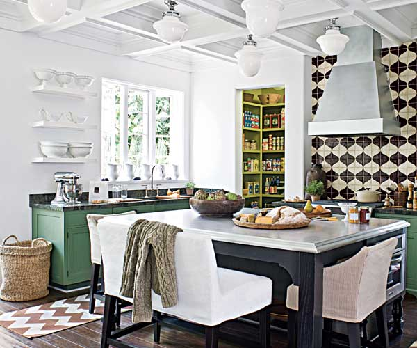 Painted Pantry as an example of a creative kitchen upgrade