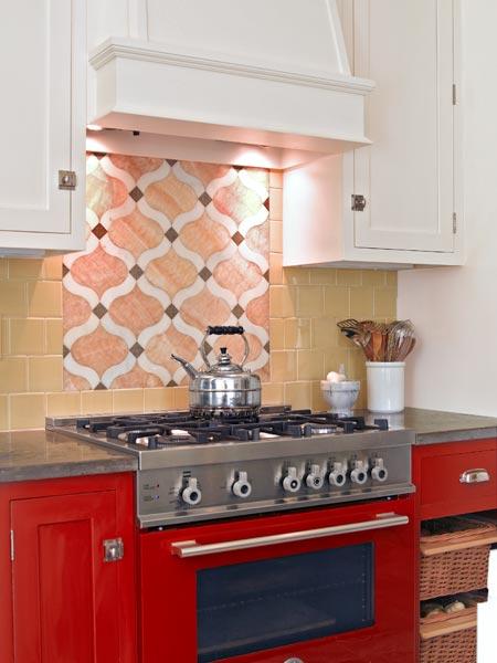 custom backsplash inset family friendly kitchen this