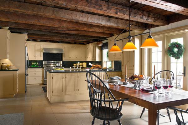 Kitchen Design Calming Farmhouse Comeback After Old Remodel