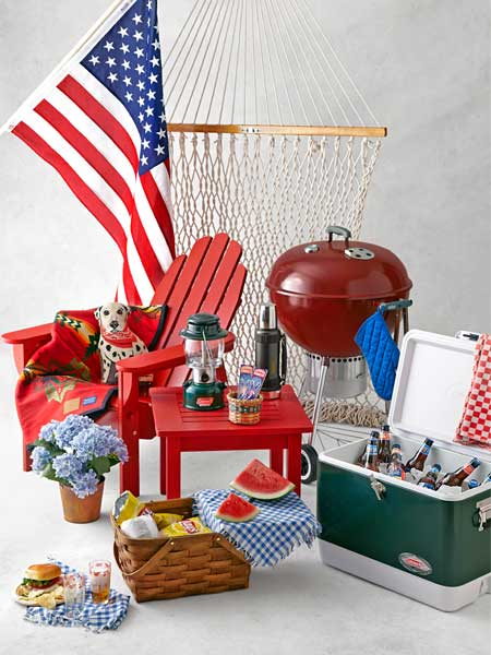 collection of classic backyard and yard products made in america