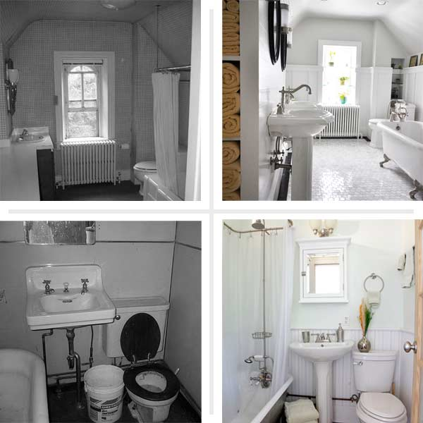 Big payoff best bath before and afters 2014 this old for Bathroom ideas old house