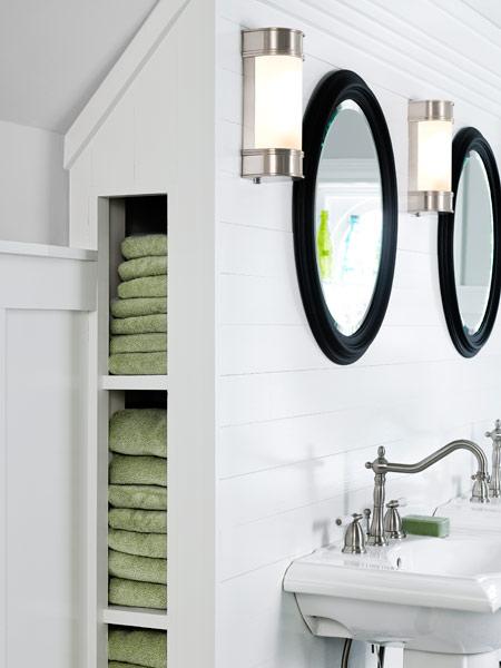 Best Bath Redo Built In Towel Storage One Room Wonder Best Remodel Winners 2014 This Old