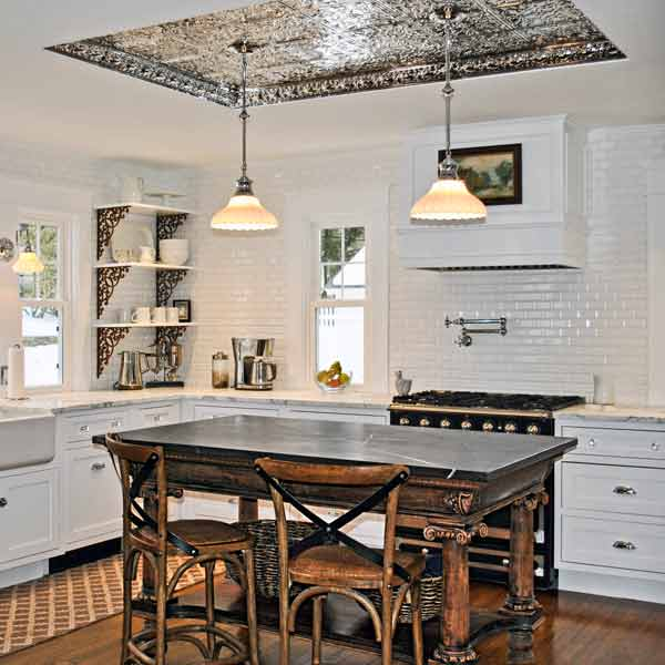 Tin Ceiling Kitchen Ideas