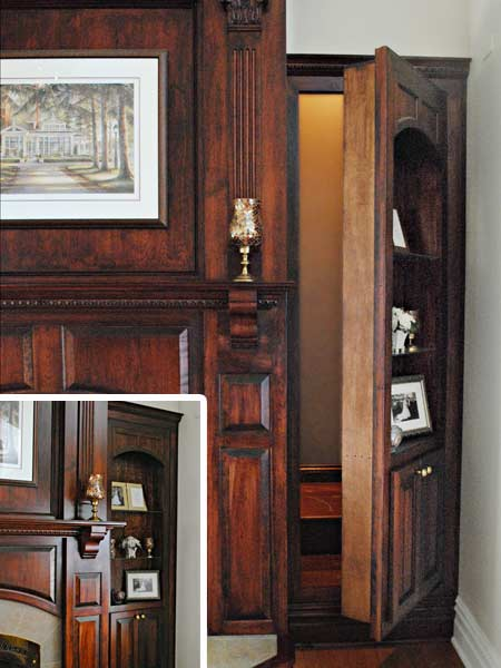 Secret passage readers 39 clever upgrade ideas that wowed for Houses with secret rooms and passageways
