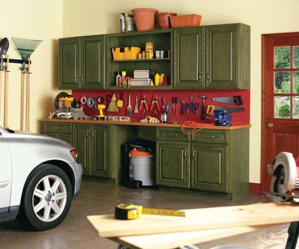 Kitchen Garage Cabinets: 10 Fun Furniture Makeovers