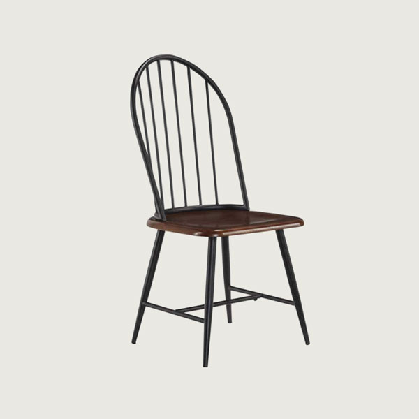 and wood dining chair how to decorate an industrial style dining room
