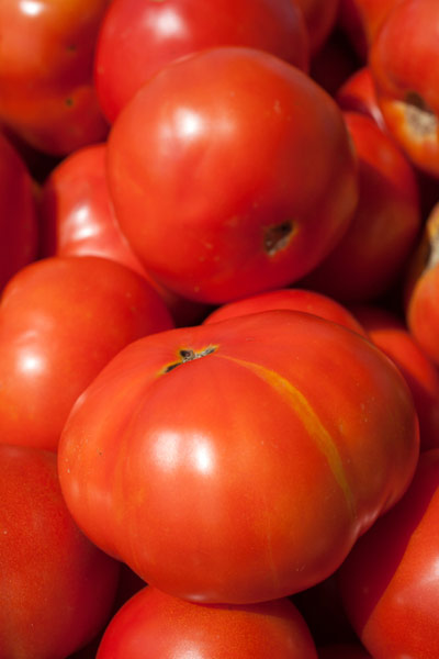 tomato with split skin, vegetable garden problems solved