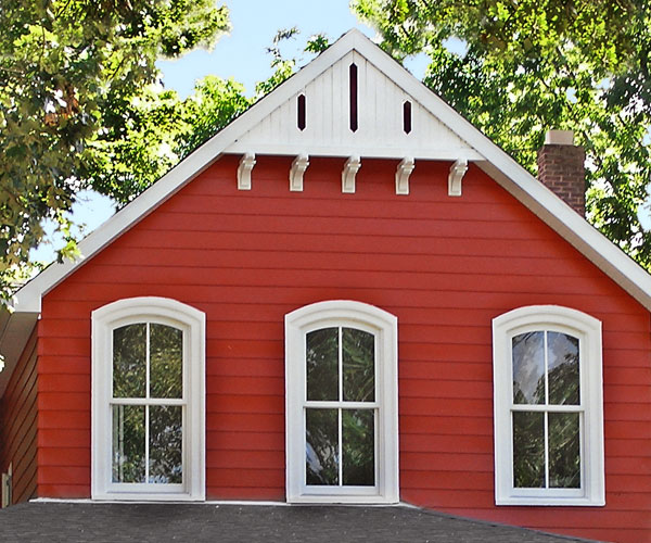 "Investing In Street Appeal With Style: ""Porch"" Ideas To Steal: Gable Detail"