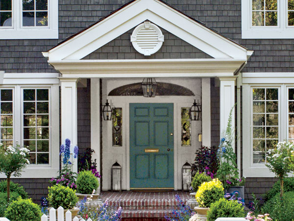 Welcoming Ideas To Steal Front Door Curb Appeal Ideas
