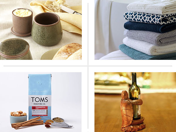 4 holiday gifts that gives profits to a charity