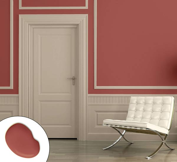 Trimmed Terra Cotta Color Of The Year 2015 Marsala