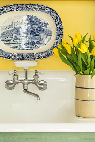 A Kitchen With Vintage Character: Kitchen Remodel As Character Study