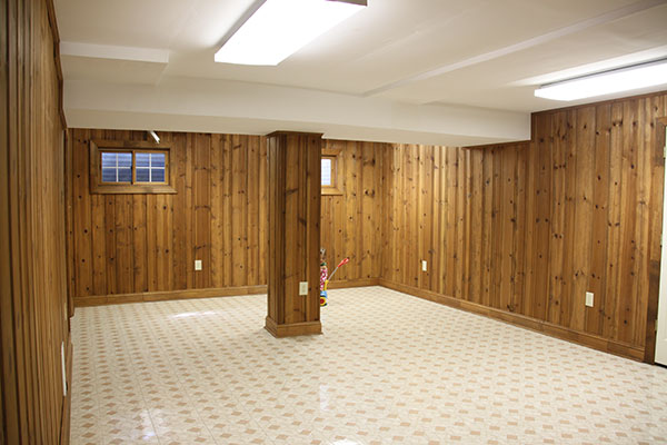 new light filled basement before best basements before and