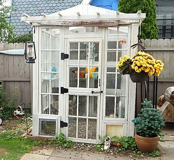 Add On Function 4 Greenhouses Made From Recycled Windows