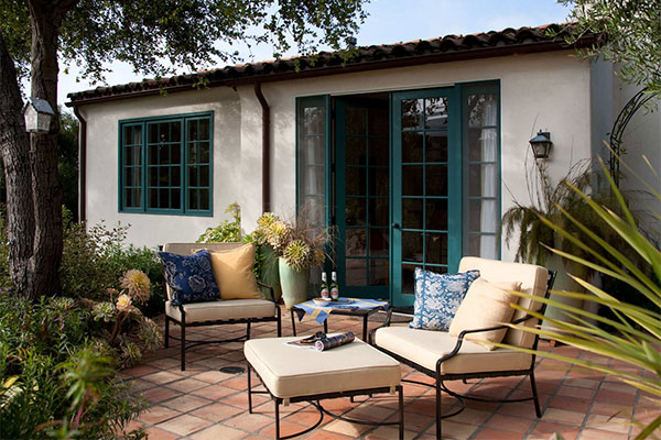 Refreshing Teal For A Patio 11 Brilliant Ideas For