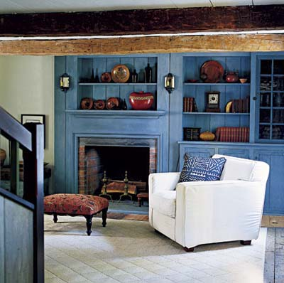 Colonial revival interior joy studio design gallery for Colonial interior paint colors