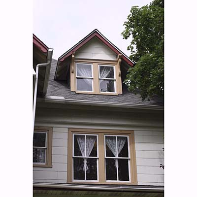 Double Hung dormer window