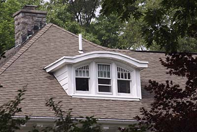 Curved Top dormer window