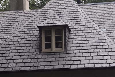 Casement dormer window
