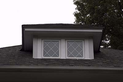Mullions dormer window