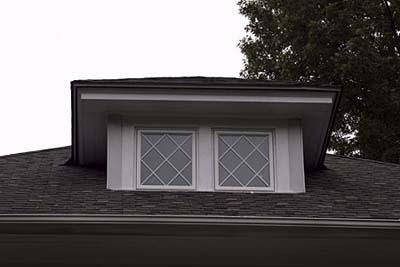 Mullions dormer window