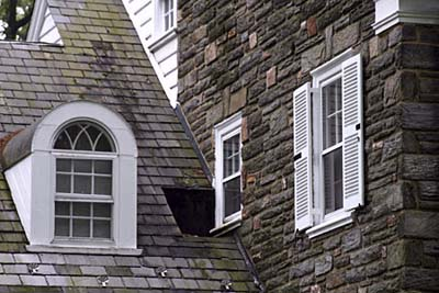 Palladian dormer window