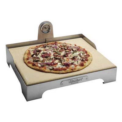 Pizza på gasgrill temperatur