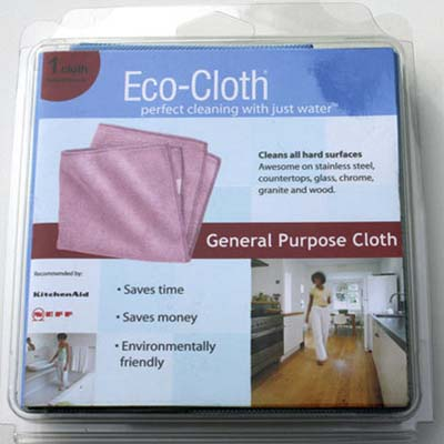 eco-friendly microfiber cleaning cloth
