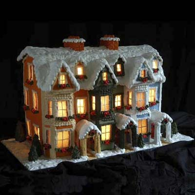 gingerbread reproductions of newfoundland-area homes