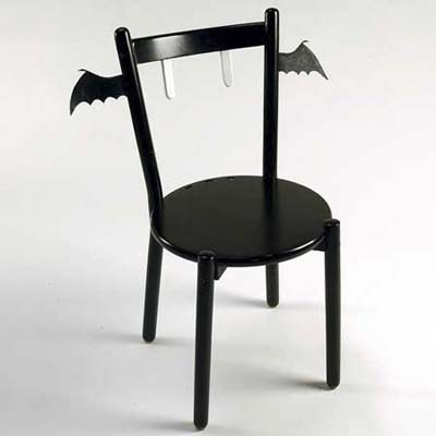 custom designed bat wing chair
