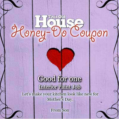 coupons for DIY projects around the house