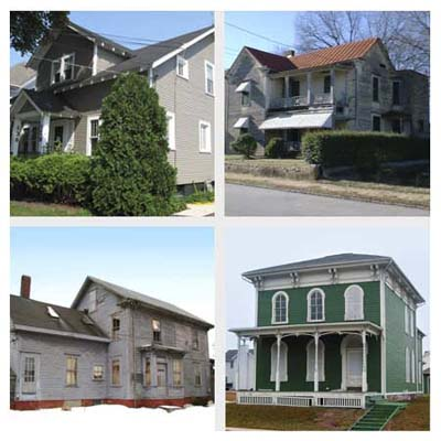 4 houses that need to be moved and cost 1 dollar or are free