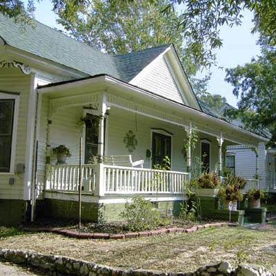 an old bungalow in East Durham, North Carolina