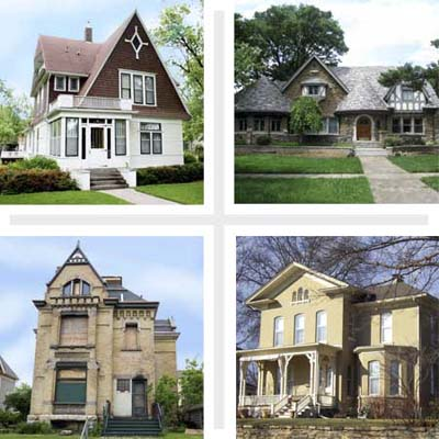 Best Places to Buy an Old House 2009 The Midwest